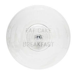 NIB Kate Spade Eat Cake for Breakfast Cake Plate